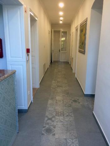 Katzer Villa folyosó